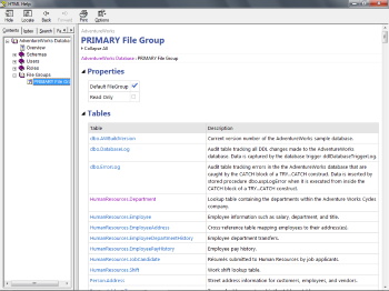 File Group Page