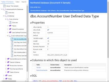 User Defined Data Type Page
