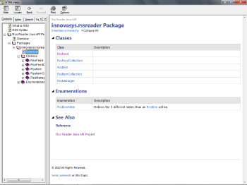 Package Overview Page