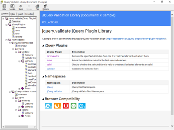 Library Overview Page